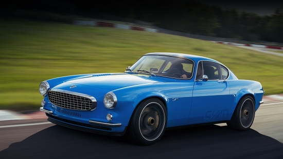 Cyan Racing turns Volvo P1800 into a stylish electric car