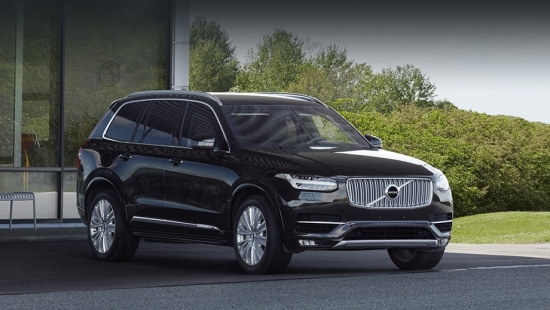 Volvo XC90 Armored crossover was assembled together with the Germans