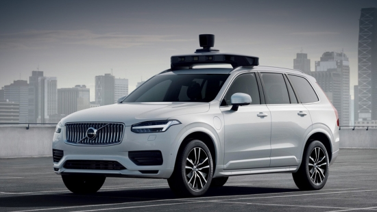 Volvo and Uber showcased their serial drone